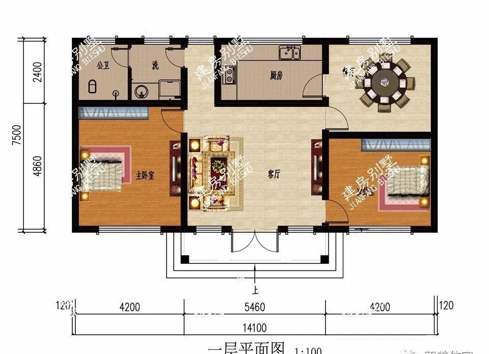 家里平面图怎么画