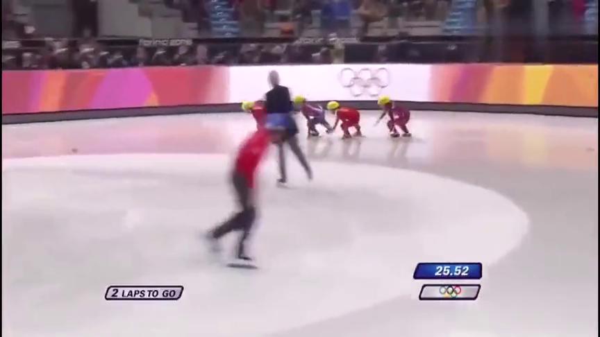 回顾:短道速滑女子500米比赛,王濛这速度谁比得上