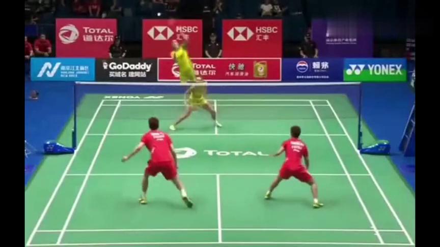 羽毛球精彩片段:看了这场比赛只想说,黄东萍好样的