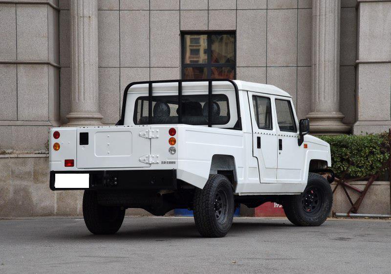 北汽硬派皮卡勇士,5.8米大车身250扭矩,真实情况令人振奋!