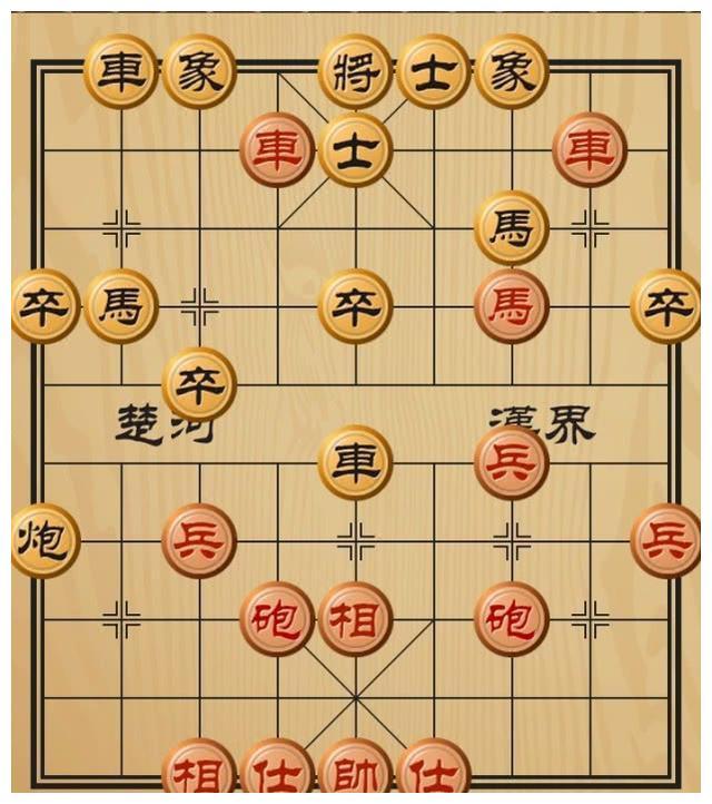 象棋中局赏析:走了几步就攻破了对方城池,招法紧凑而精彩