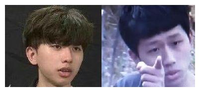 蔡徐坤撞脸王境择:谜之相似的两张脸越来越帅,时间你不是杀猪刀