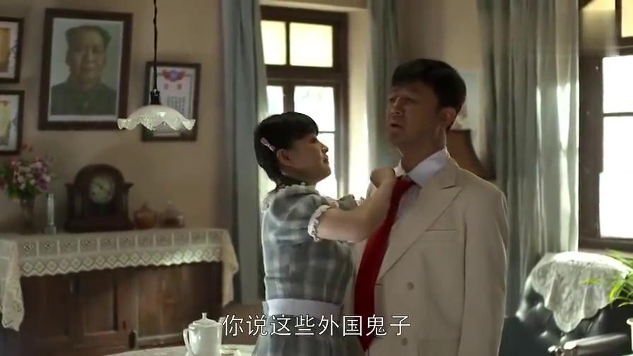 父母爱情:江德福穿西服去吃饭,路上碰见老丁,这下有好戏看了