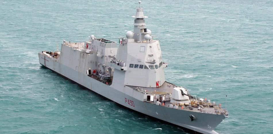 意大利海军首艘PPA多用途巡逻舰进行海试 媲美FREMM护卫舰