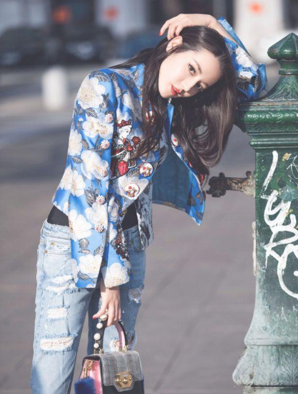 迪丽热巴:时尚潮流 貌美如花 美丽动人