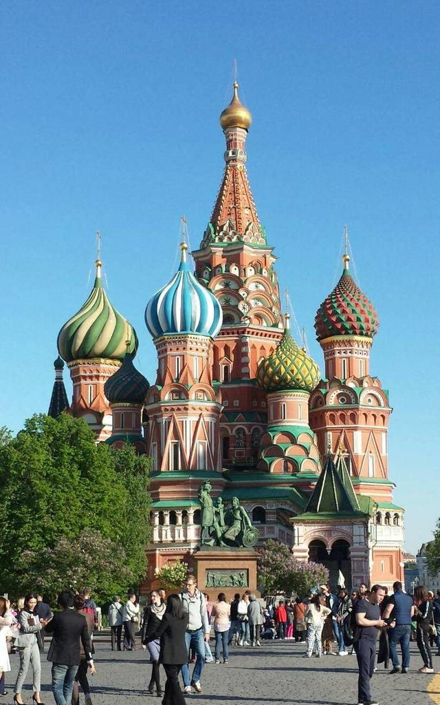 俄罗斯红场和克里姆林宫的建筑