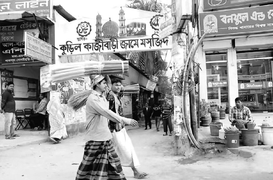 孟加拉国首都达卡掠影