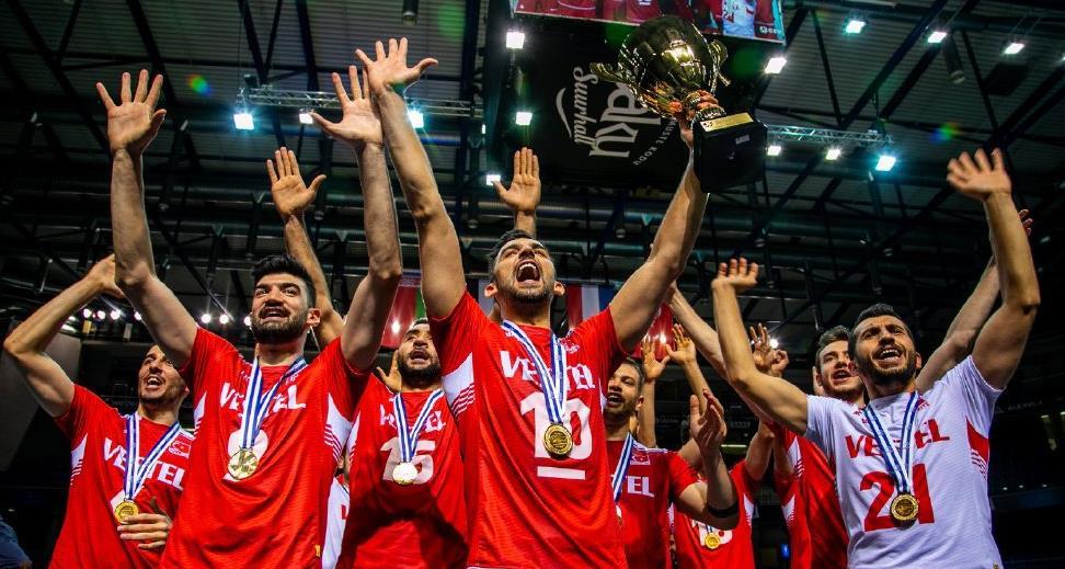 2019欧洲排球黄金联赛,男子组土耳其称王,女子组捷克封后!