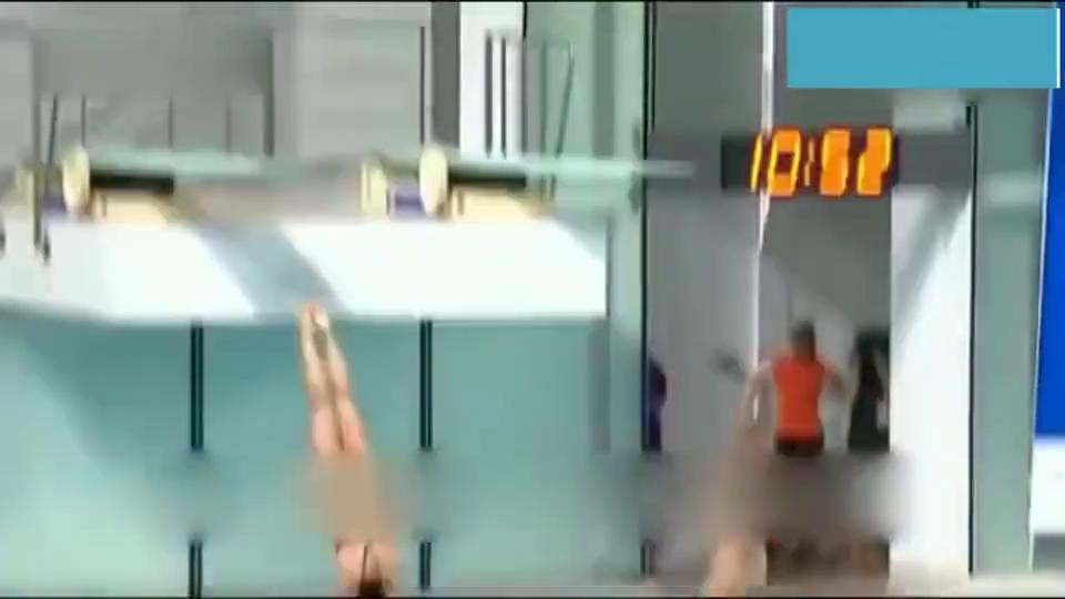 陈艾森吴敏霞这个跳水姿势你见过吗?值得一看