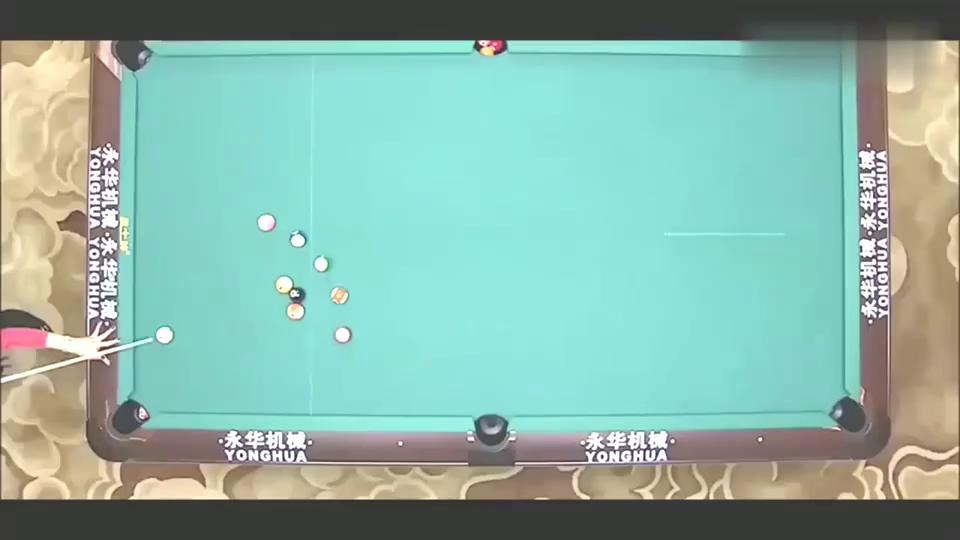 奥沙利文一秒破解超级难题,打服九球天后潘晓婷,秒变小迷妹