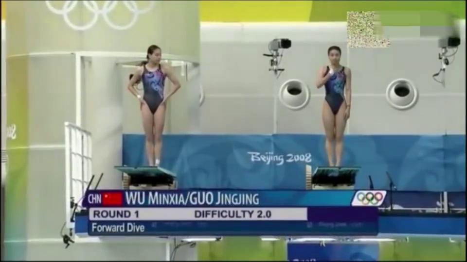 跳水女皇郭晶晶吴敏霞的那些经典跳水瞬间!让观众看的鼓掌欢呼!