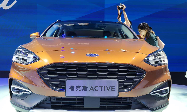 锐界ST-Line内饰和福克斯Active,亮相重庆车展