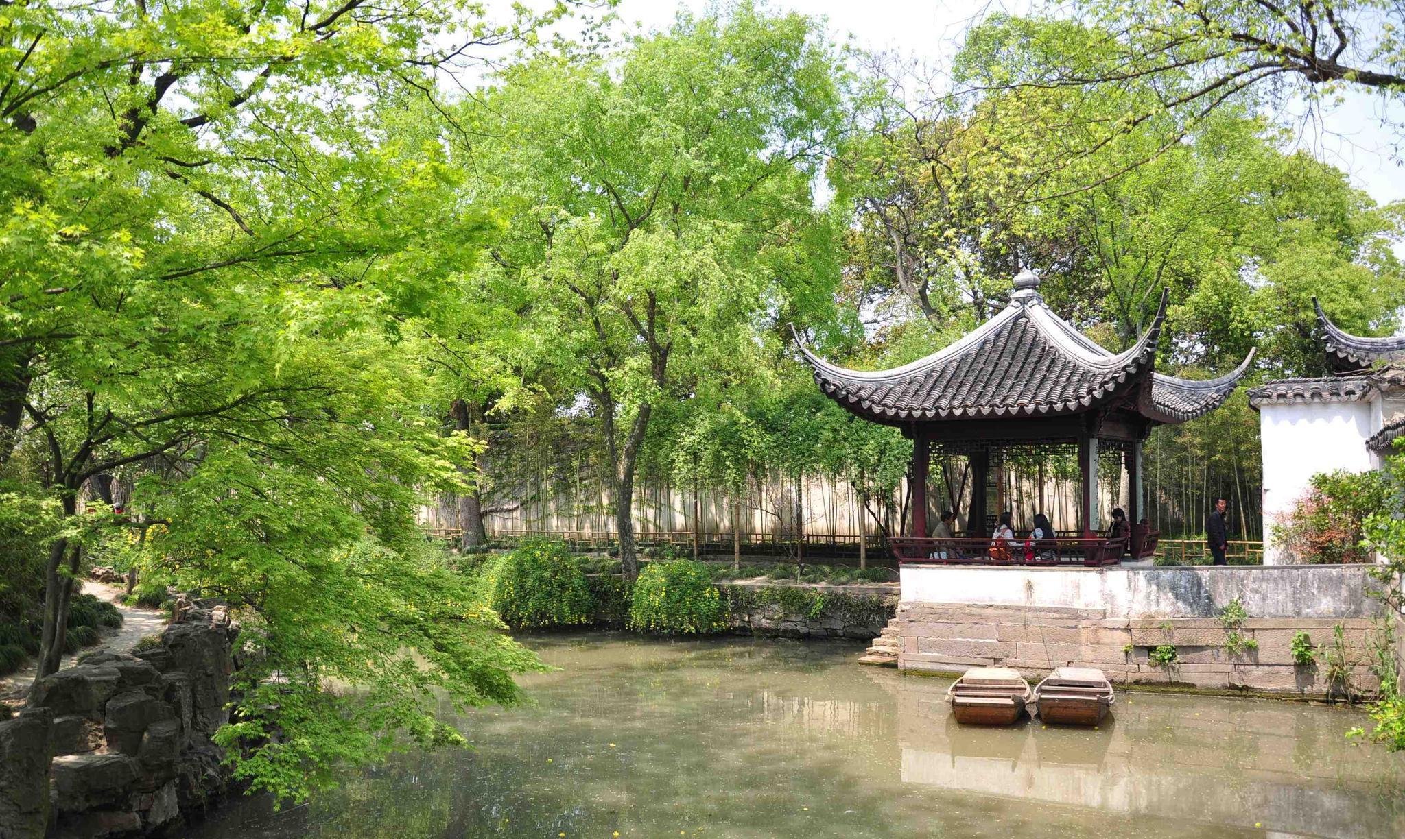 中国四大名园——苏州拙政园