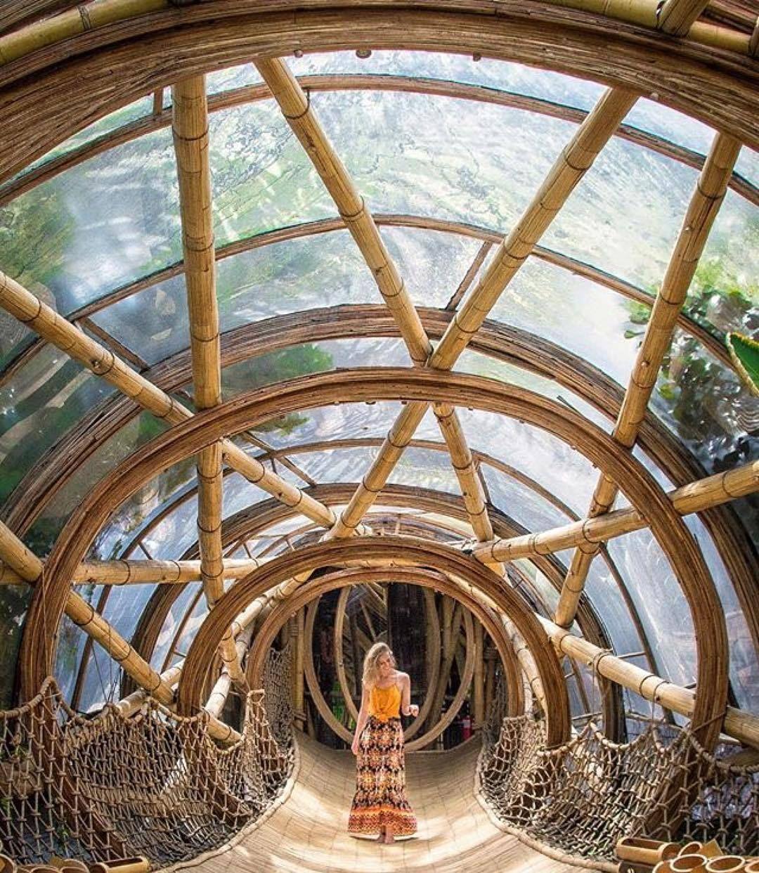 返璞归真!到巴厘岛旅游最具人气的竟然是这座原始竹木屋