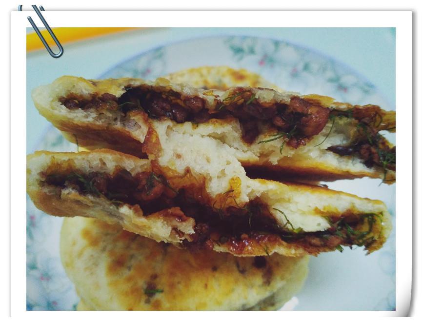 酱香小肉饼我喜欢这样做,不揉面,不擀面,30分钟解决早餐问题