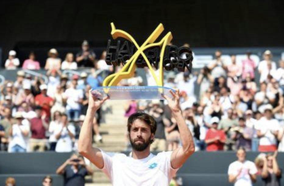 巴斯拉什维利击败鲁布列夫 获得汉堡网球公开赛冠军