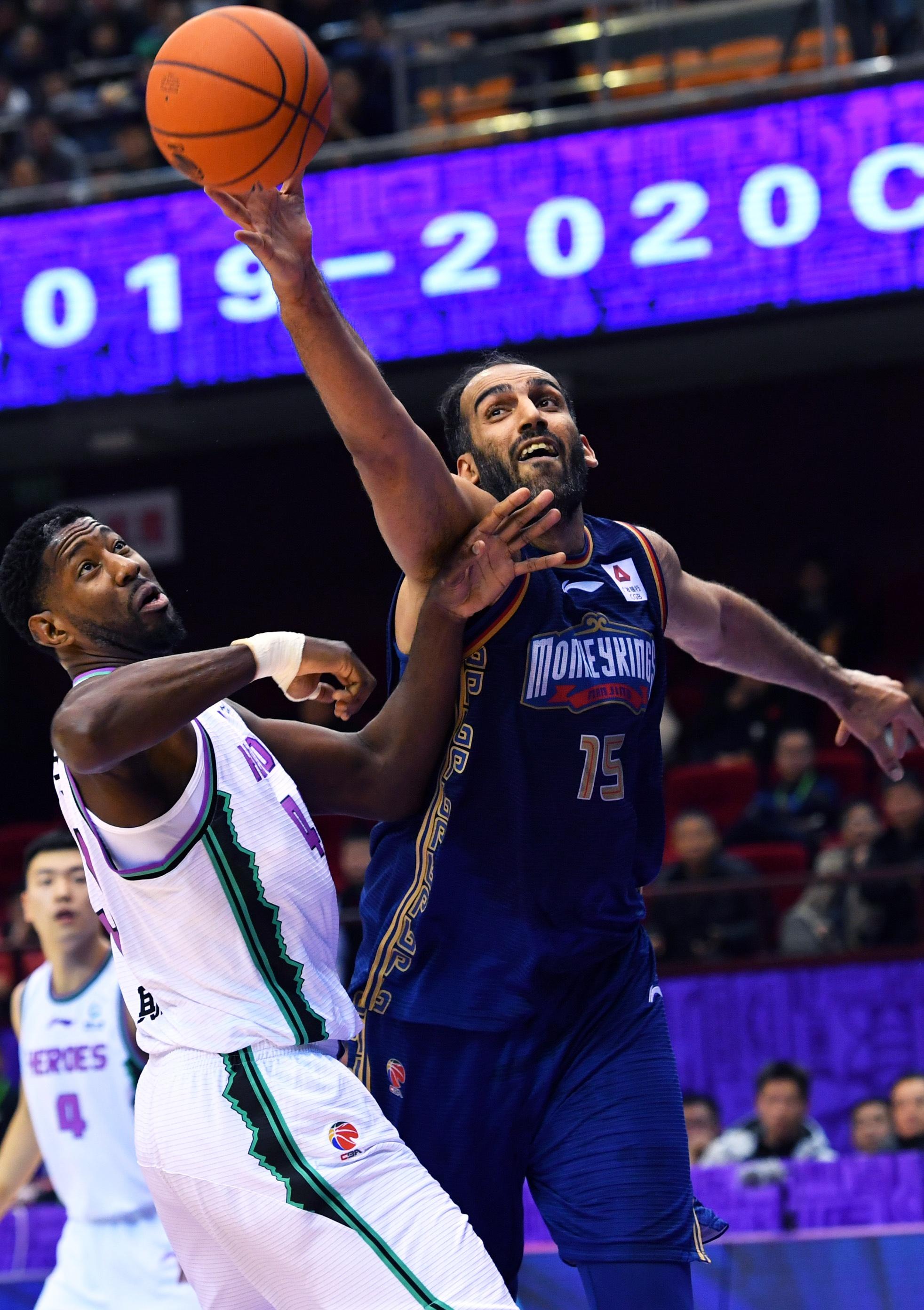 篮球——CBA常规赛:山东西王队对阵南京同曦宙光