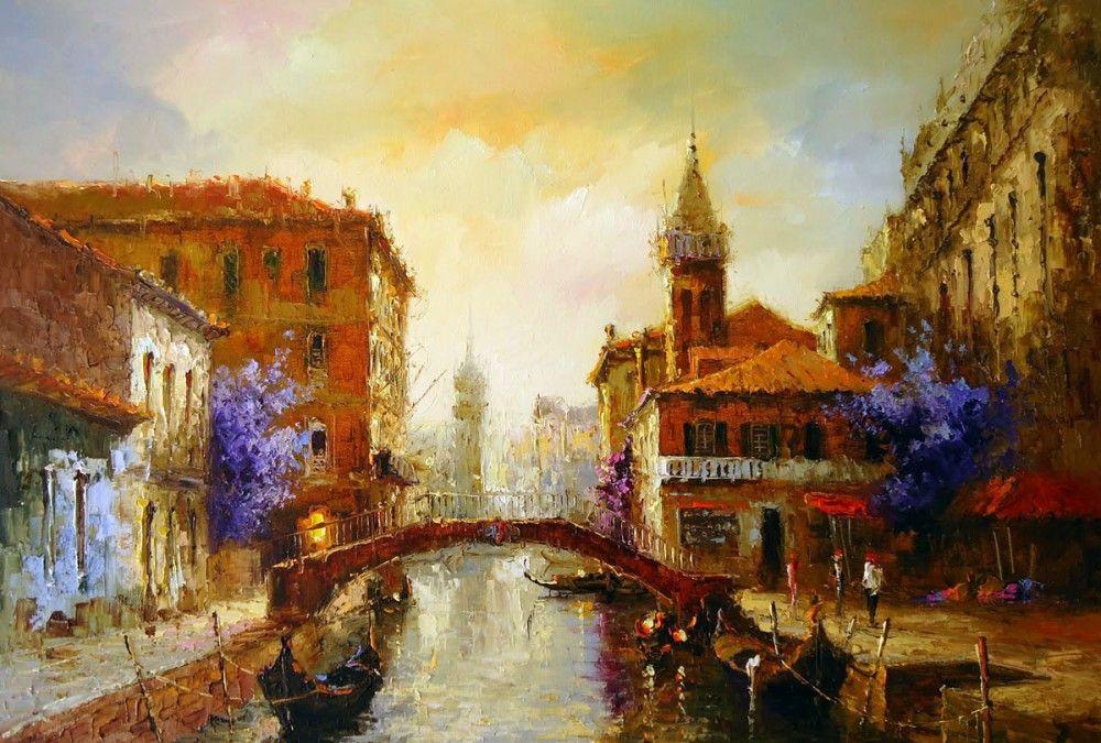 欣赏世界油画,领略各国艺术:巴西艺术家尼尔森莫利纳作品欣赏