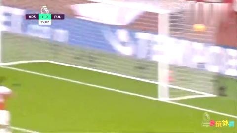 「集锦」阿森纳4-1富勒姆迎新年开门红,拉卡泽特破门