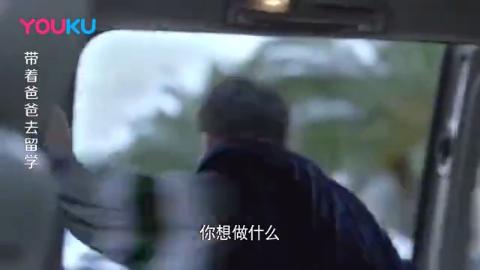 大叔带儿子入学面试,刚说国外不堵车,下一秒就打脸了