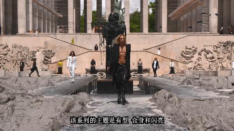 Rick Owens 2020春夏巴黎男装秀