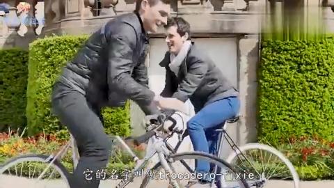 法国小伙发明新型自行车,龙头可纵向旋转,让你骑出漂移的感觉