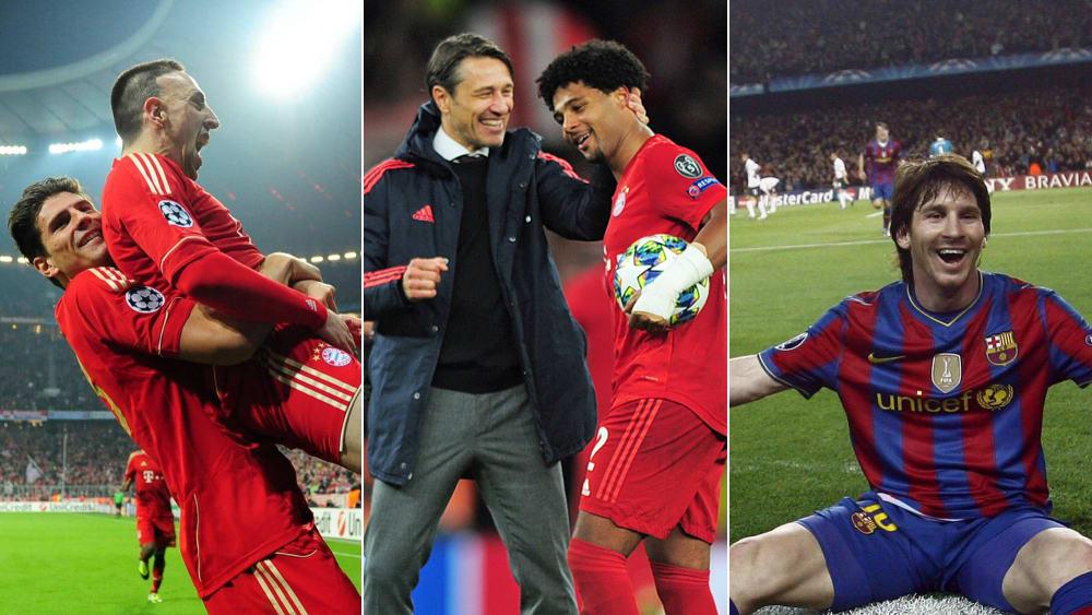 「欧冠」那些在欧冠上演大四喜的球员,梅西阿德里亚诺五球