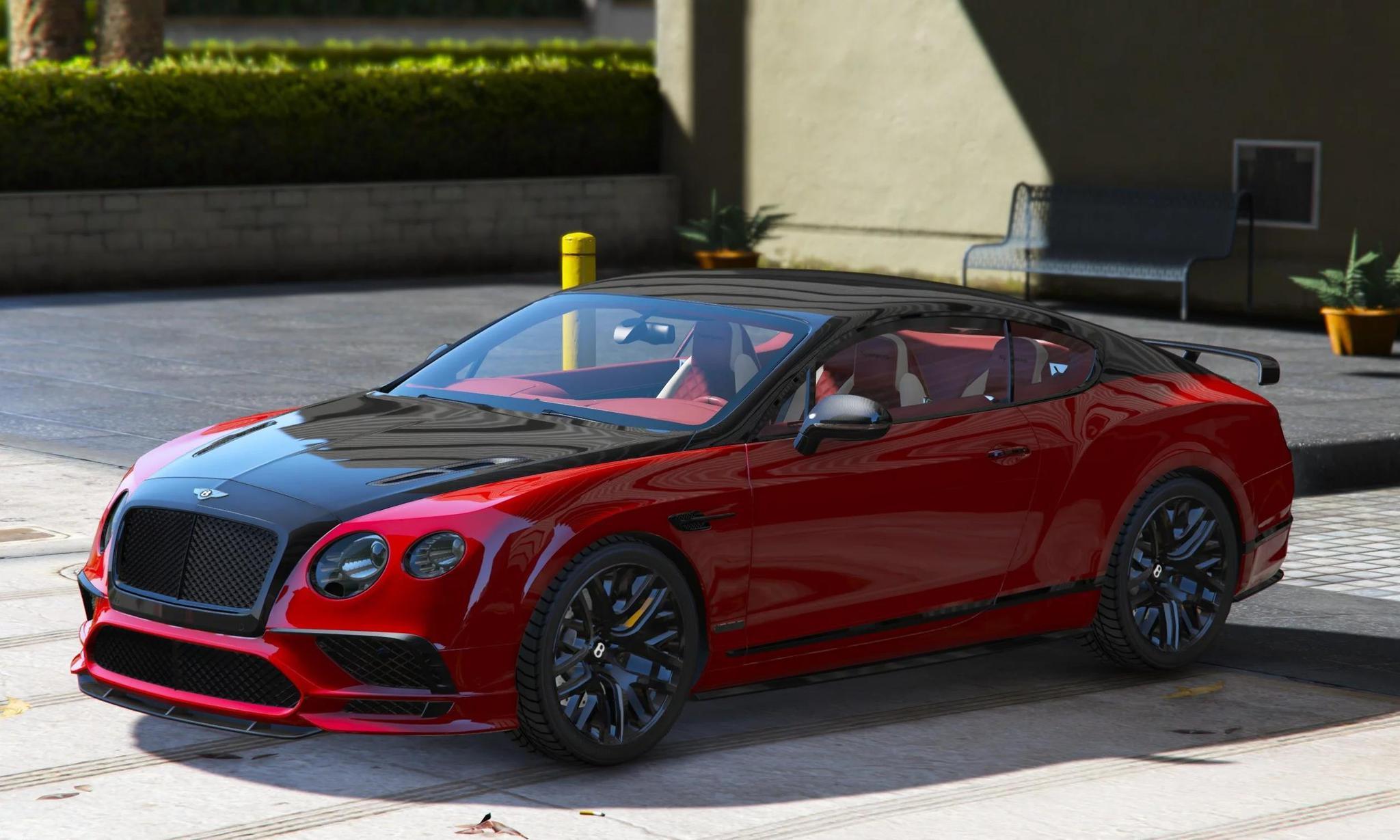 GTA5 MOD 极速330km/h 宾利欧陆GT极速版