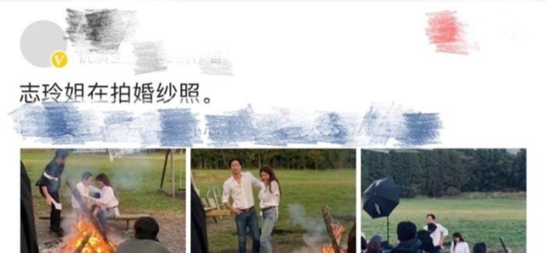 林志玲夫妇拍结婚照,衬衣配牛仔,不穿婚纱也能美地耀眼!