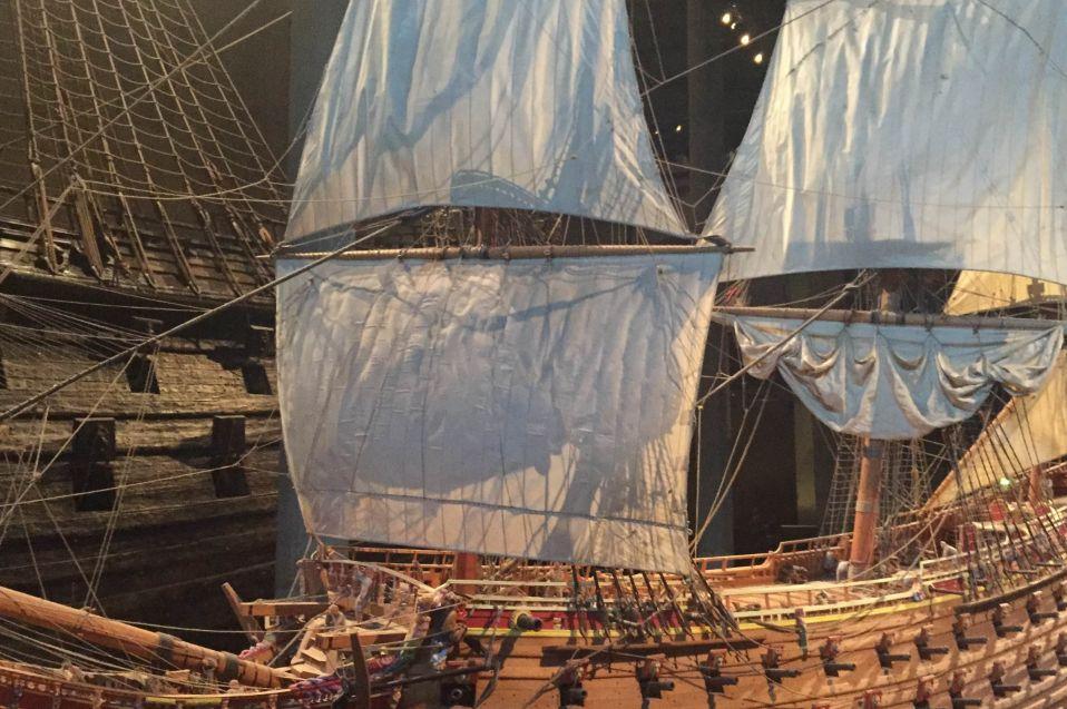 巴洛克艺术风格,船上装饰的各种精美雕饰:瓦萨沉船博物馆|巴洛克|瓦萨 ...