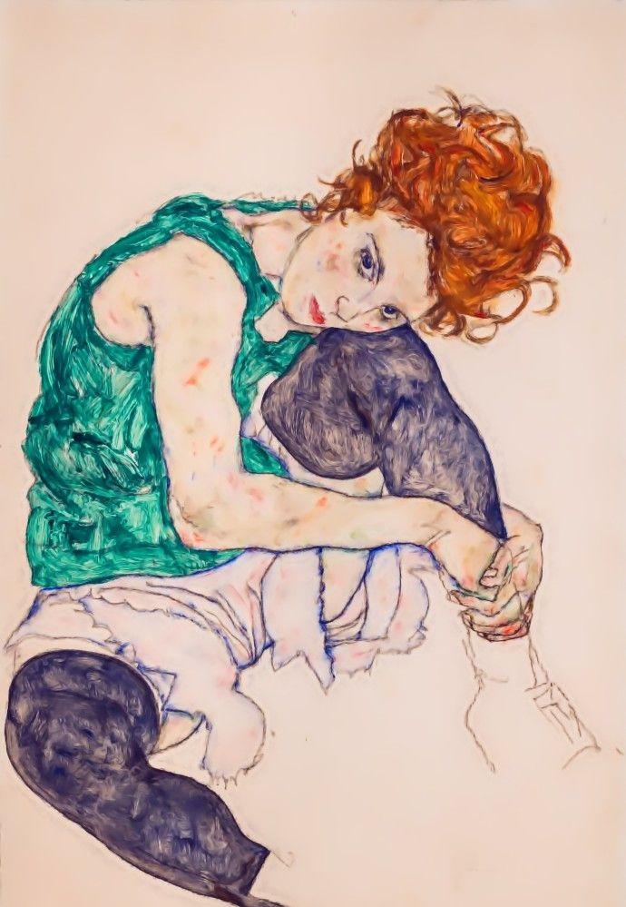 埃贡·席勒绘画作品