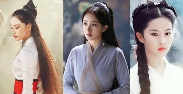 古装剧中,刘亦菲、张钧甯过分美,第一美居然是她?