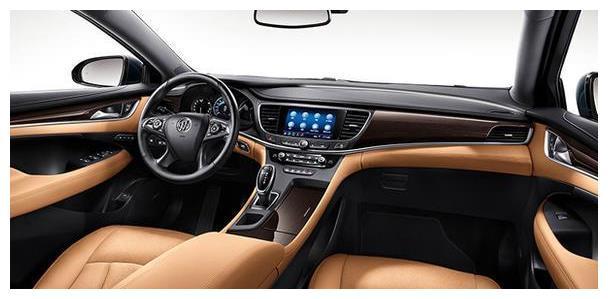 全新一代别克君越,更大的车内空间,百公里油耗仅6.9L
