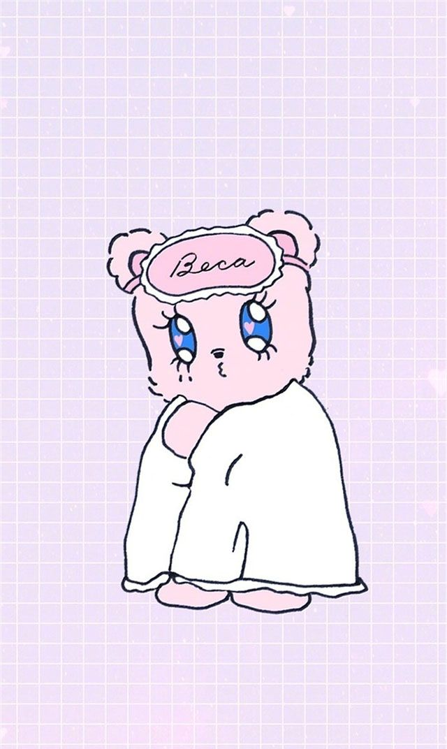 少女风壁纸丨情感文字-高清卡通-可爱粉嫩