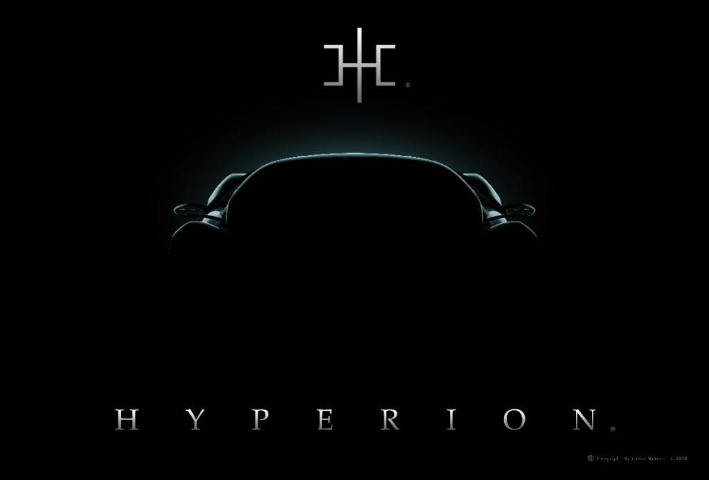 Hyperion Motors氢燃料电池跑车即将亮相纽约车展