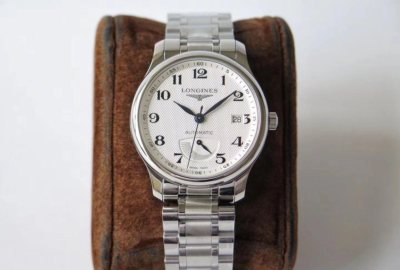 GS浪琴名匠系列真动能显示腕表,论机械表入门首选款式之一!