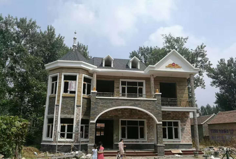 实拍最美乡村别墅,看了好想回家建一套