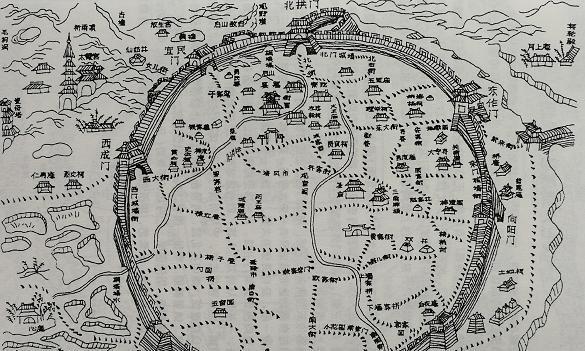上海、嘉定、泰兴、桐城……除了这些地方,哪里还有正圆形城池?