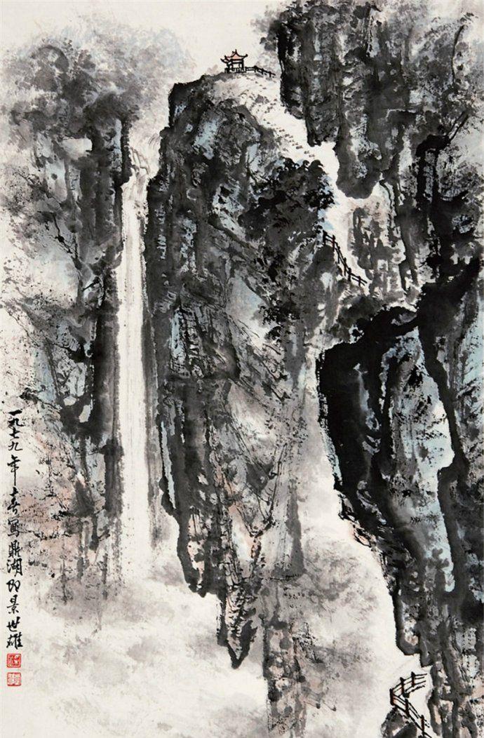 广州美院教授梁世雄山水画作品欣赏