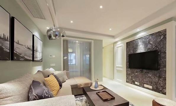 128平米三居室的现代风格案例,只花13万!-幸福时光五期装修