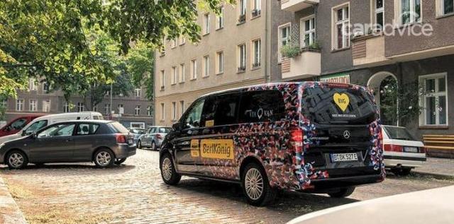 奔驰在德国推出全新电动版威霆 供标准和长轴距车身