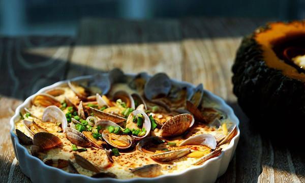 像布丁一样鲜香滑嫩的花蛤蒸蛋,不可抗拒的诱惑美味!