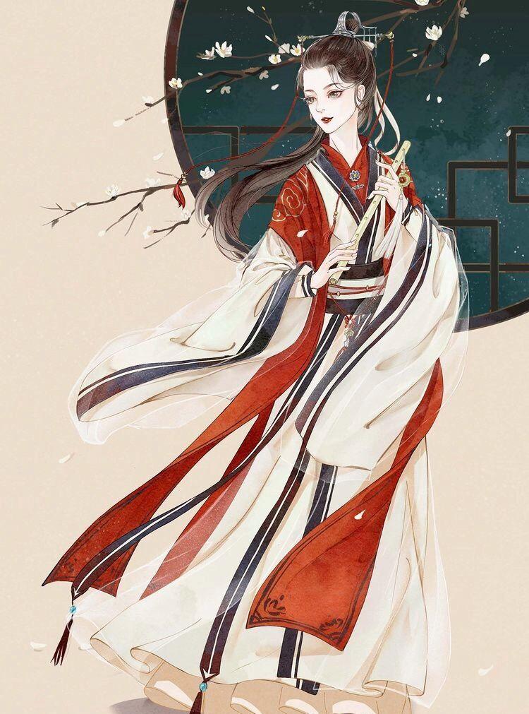 古风手绘温柔美仙女壁纸,人面逐高低,世情着冷暖!