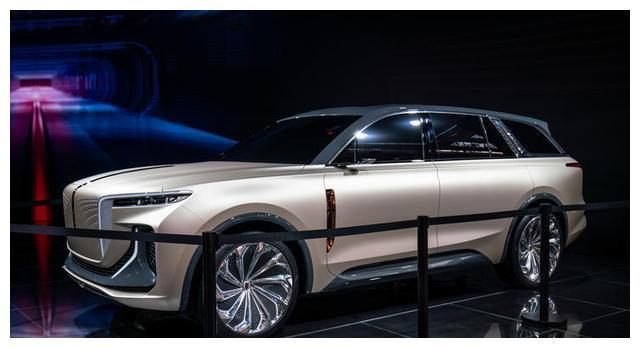 全新红旗E115实拍,定位全尺寸旗舰级SUV,对标宝马X7/奥迪Q8