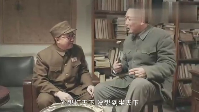 毛泽东:毛主席教导罗荣桓:为中国人民服务,是我们的责任!
