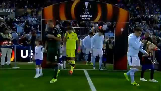 塞尔塔维戈vs克拉斯诺达尔2016-17欧洲联盟杯