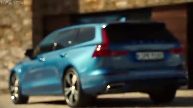 视频:最新一代沃尔沃V60T6的外观造型
