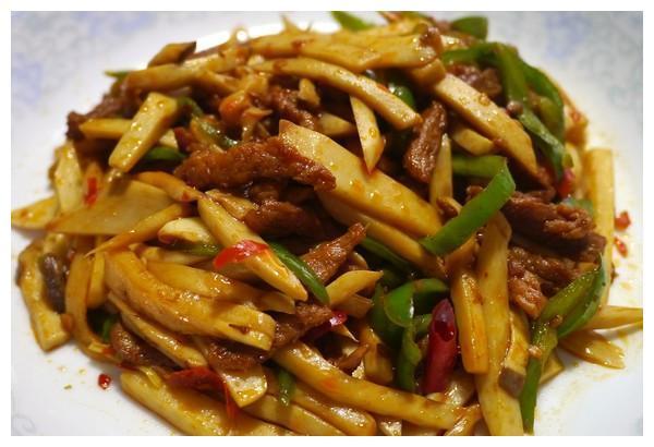 美食推荐:杏鲍菇炒肉丝,酱爆豆干肉丝,香烤南乳五花肉的做法