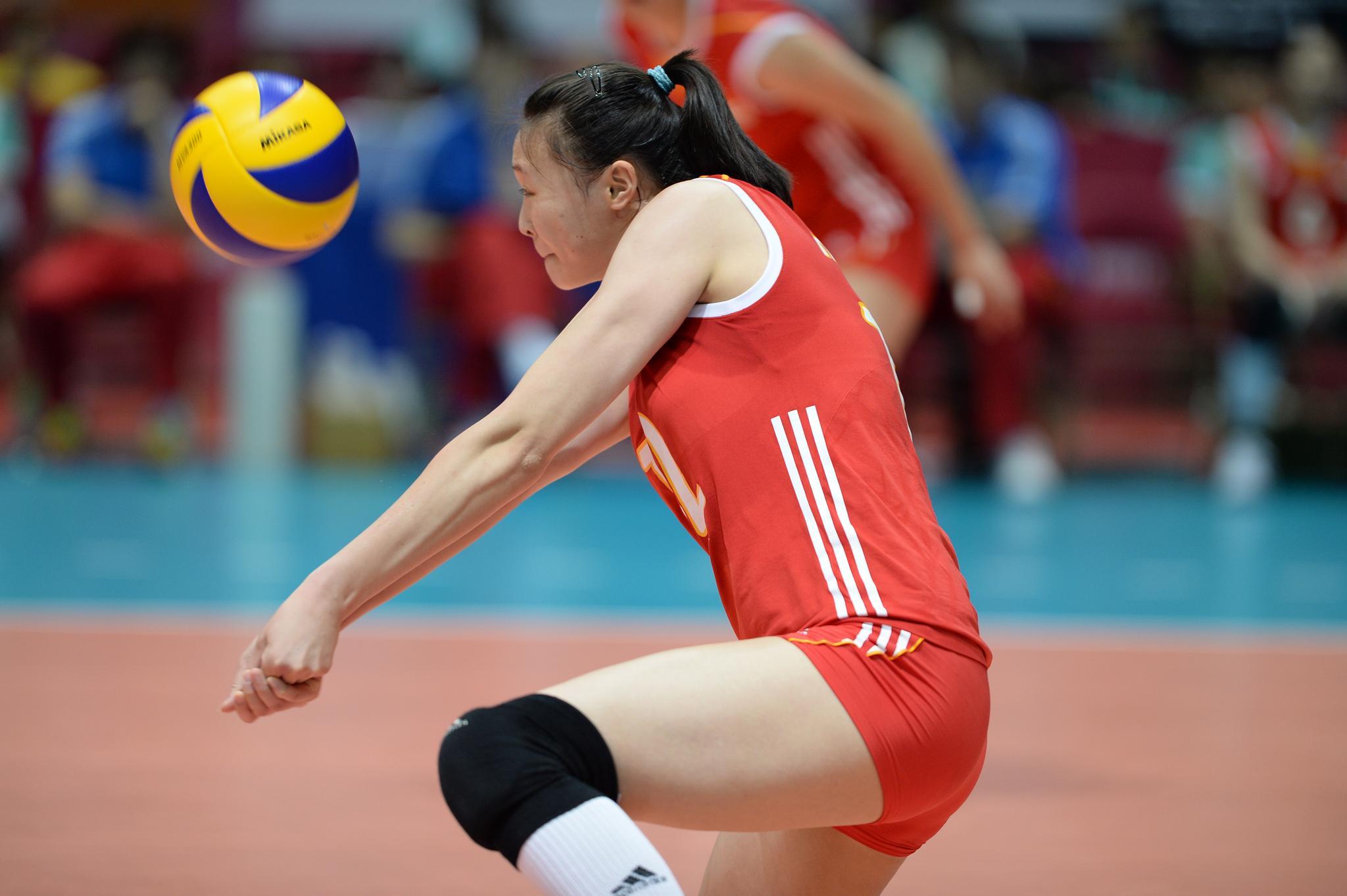 中国女排前一姐惠若琪