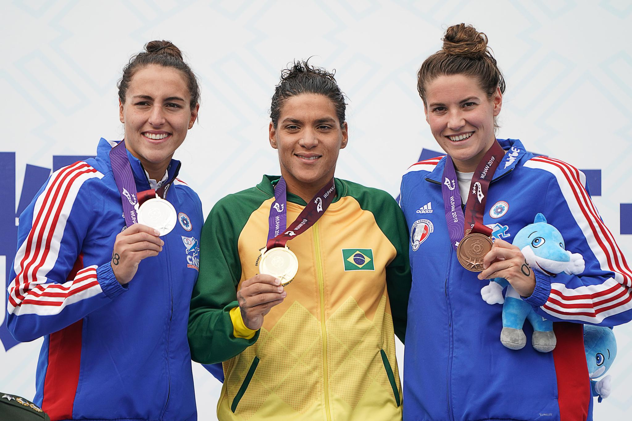 游泳——公开水域女子10公里赛况
